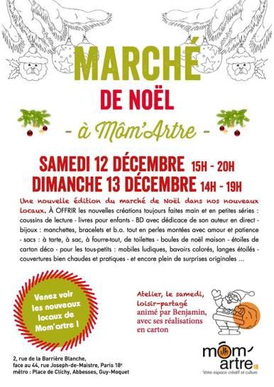 Marché de Noël Môm'Artre
